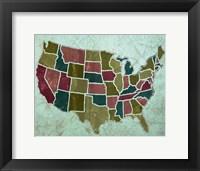Framed Map II