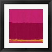 Framed Undaunted Pink II