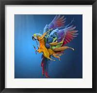 Framed Flying Colours
