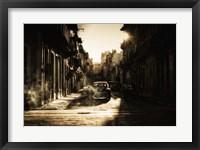 Framed Mystic Morning In Havana