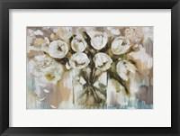 Framed Pure Blanc Tulipa