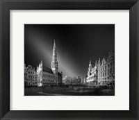 Framed Brussels Lace