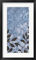 Garden Damask I Framed Print