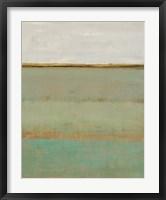 Verdant Field II Framed Print