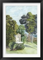 Scenic French Wallpaper I Framed Print