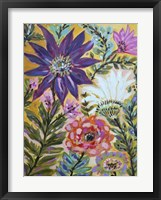 Garden Of Whimsy I Framed Print