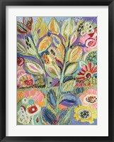 Garden Of Whimsy II Framed Print