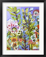 Garden Of Whimsy III Framed Print