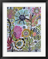 Garden Of Whimsy V Framed Print