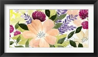 Vivid Blooming I Framed Print