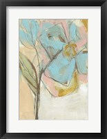 Impasto Flower I Framed Print