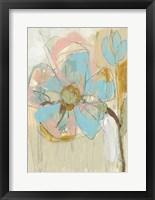 Impasto Flower II Framed Print
