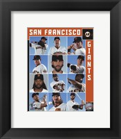 Framed San Francisco Giants 2017 Team Composite