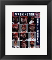 Framed Washington Nationals 2017 Team Composite