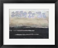 Stenciled Posies VI Framed Print