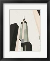 Framed Graphic New York I