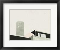 Framed Graphic New York II