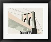 Framed Graphic New York IV
