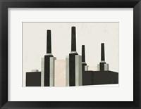 Framed Graphic New York V