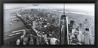Framed New York Black & White