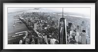 Framed New York Black & White