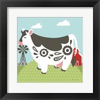 Framed Little Farm IV