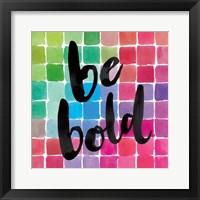 Framed Color Quotes I