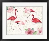 Framed Tropical Fun Bird VIII