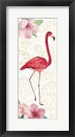 Framed Tropical Fun Bird VI