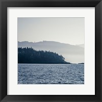 Framed Coastal Scene I