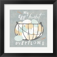 Framed Fresh Eggs III