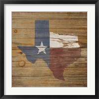 Framed Lone Star