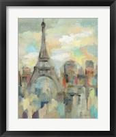 Framed Paris Impression