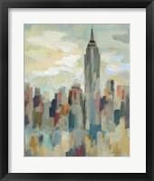 Framed New York Impression