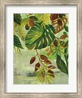 Framed Tropical Greenery II