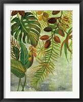 Framed Tropical Greenery I