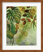 Framed Tropical Greenery I
