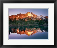 Framed Mount Jefferson