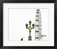 Framed London Eye III
