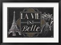 Framed Vive Paris II