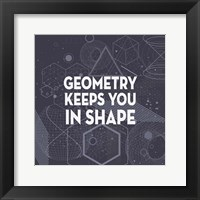 Framed Geometry Keeps You In Shape Dark Pattern
