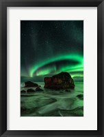 Framed Aurora, Uttakleiv