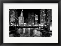 Framed Chicago River