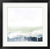 Framed Seafoam Horizon I