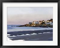 Framed Peaceful Coast