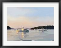 Framed Peaceful Harbor I