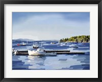 Framed Peaceful Harbor II