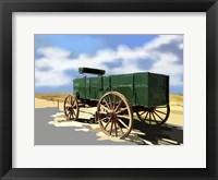 Framed Bold Wagon I
