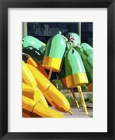 Framed Vibrant Buoys I