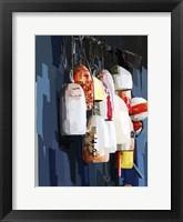 Framed Vibrant Buoys II